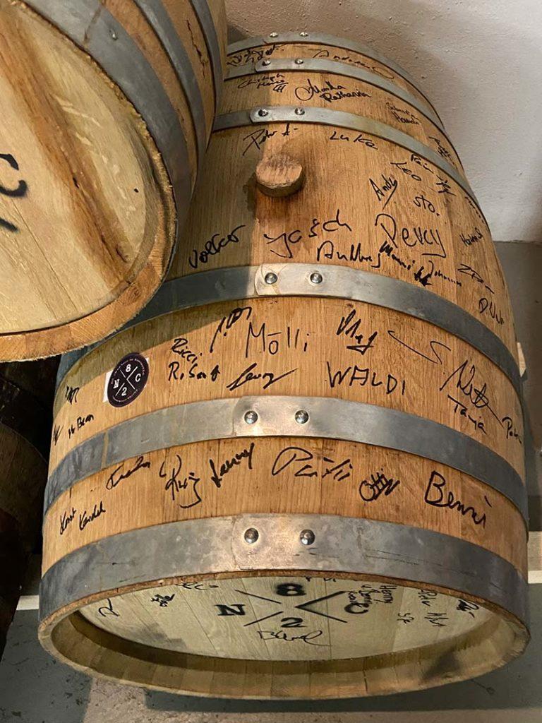 Whiskyfass im Radom